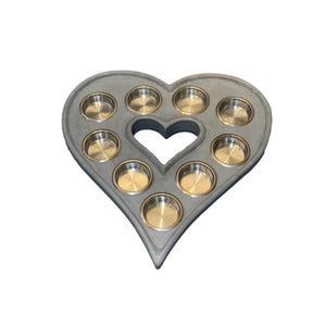 TEA LIGHT HEART