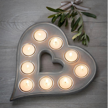 Load image into Gallery viewer, TEA LIGHT HEART
