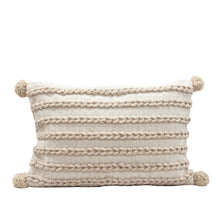 Load image into Gallery viewer, KLIM WOVEN CUSHION - NATURAL