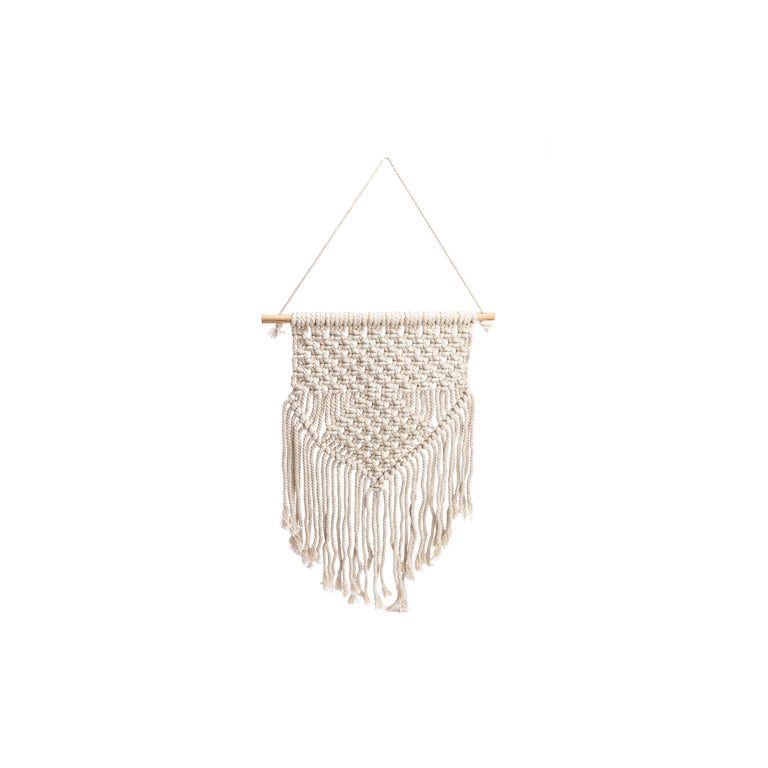 LARGE CREAM WALL MACRAME