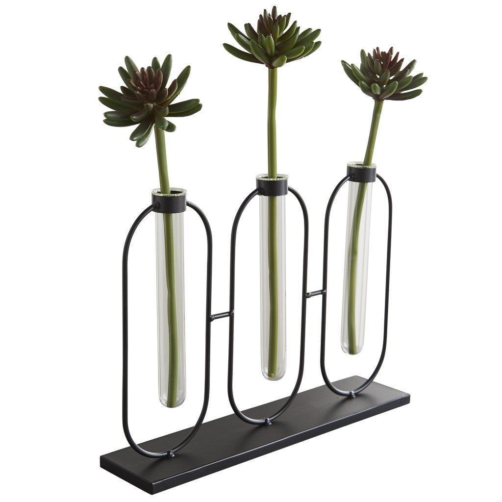 TEST TUBE FLOWER HOLDER