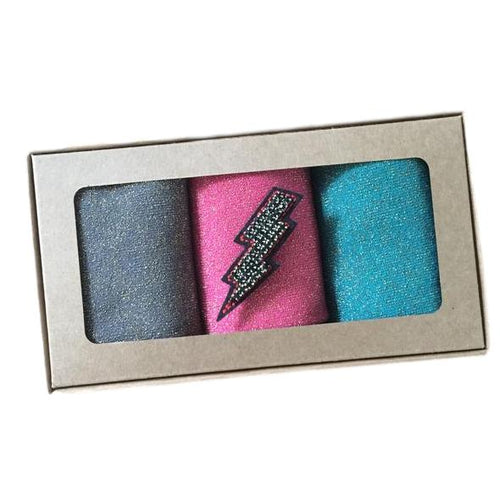 BRIXTON SOCK BOX with Lightening Bolt Pin