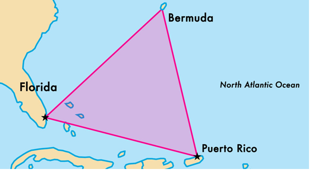 Mysteries behind Bermuda Triangle