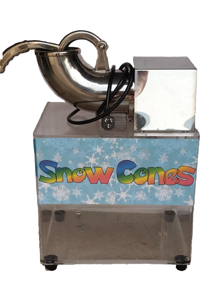Snow Cone/Shaved Ice Machine NEW, NEVER USED + Supplies to make $4K! (Only 1 Available)