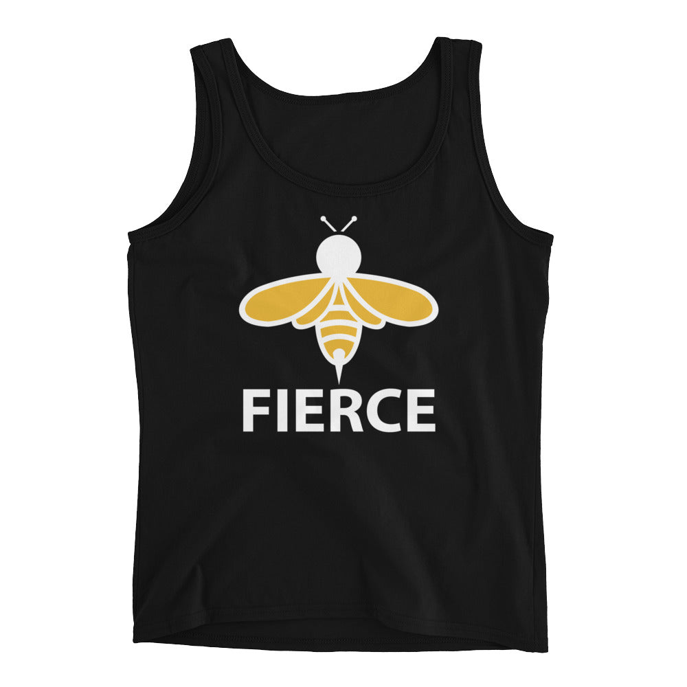 BEE TEES: Bee Fierce Ladies' Tank
