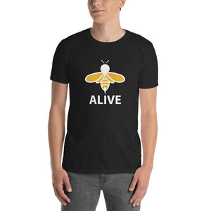 BEE TEES: Bee Alive Short-Sleeve Unisex T-Shirt