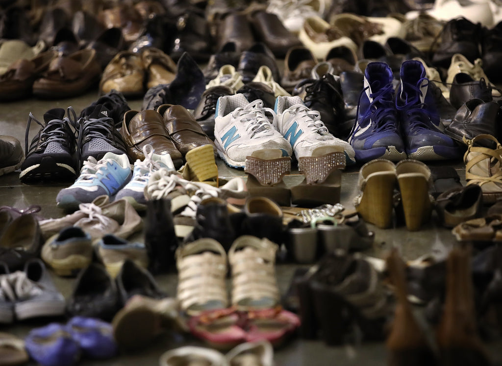 Shoe Aid and how to dispose of shoes properly