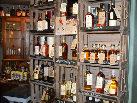 Best UK Independent Shops - Whisky Business Liverpool