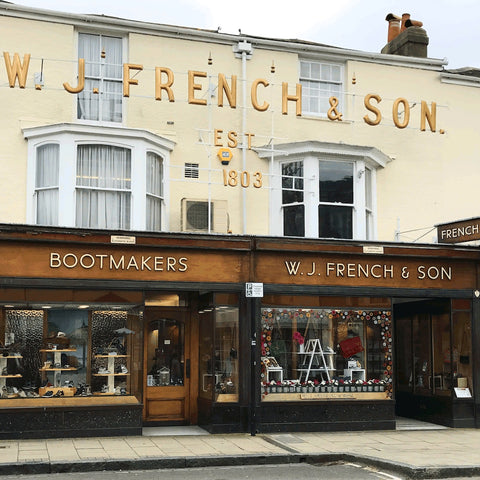 A guide to Independent British Shoe Stores - WJ French and Son