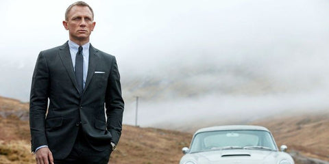 James Bond Suit in Skyfall