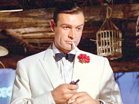 Sean Connery James Bond White Tuxedo