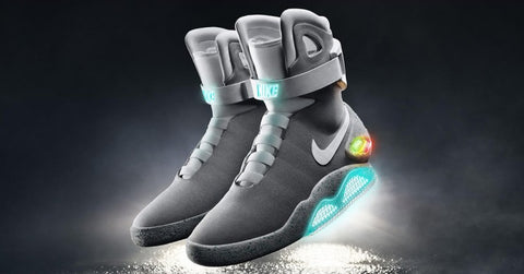 Back to the Future Movie Themed Shoes