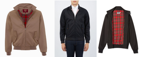 Post-lockdown men's fashion Harrington Jacket Mods