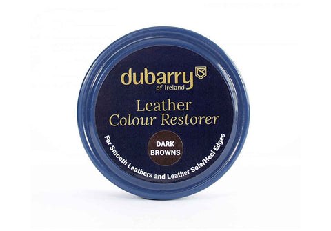how to clean leather shoes - colour restorer