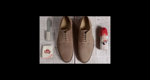 suede and nubuck protector - how to clean leather shoes