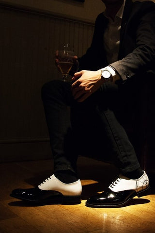 How to wear Oxford shoes - night out