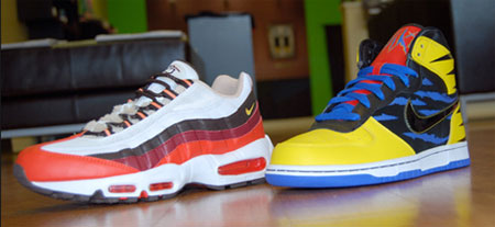 The best movie themed shoes - X Men Nike Shoes