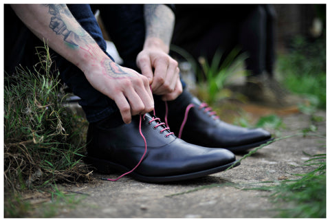 Oxford shoes guide - Percy Stride Black Oxfords