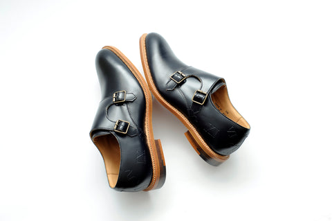 Oxford shoes guide - Percy Stride monk shoes