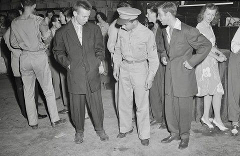 Zoot-Suit-Style-Of-The-1940s