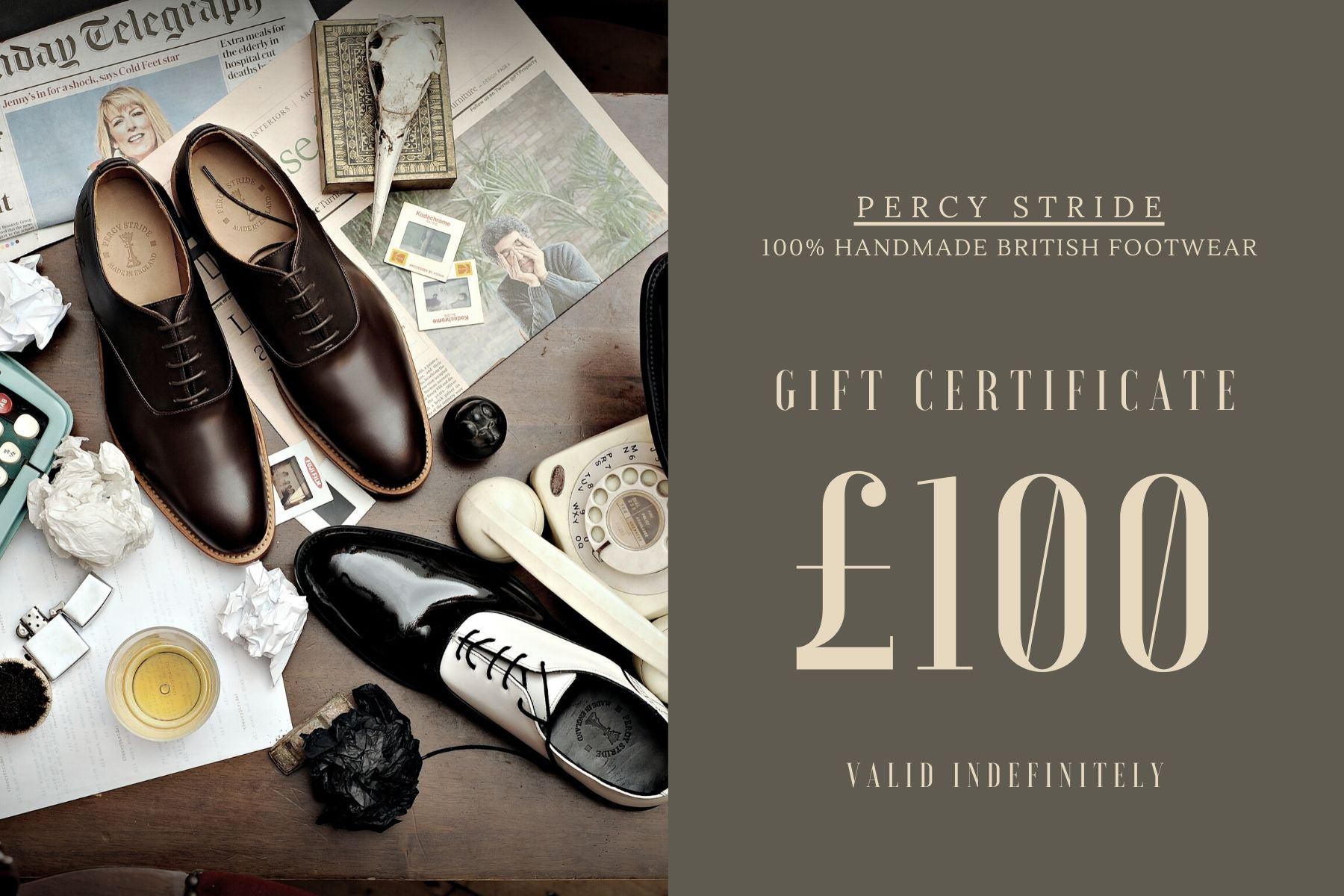 Percy Stride Footwear Gift Card