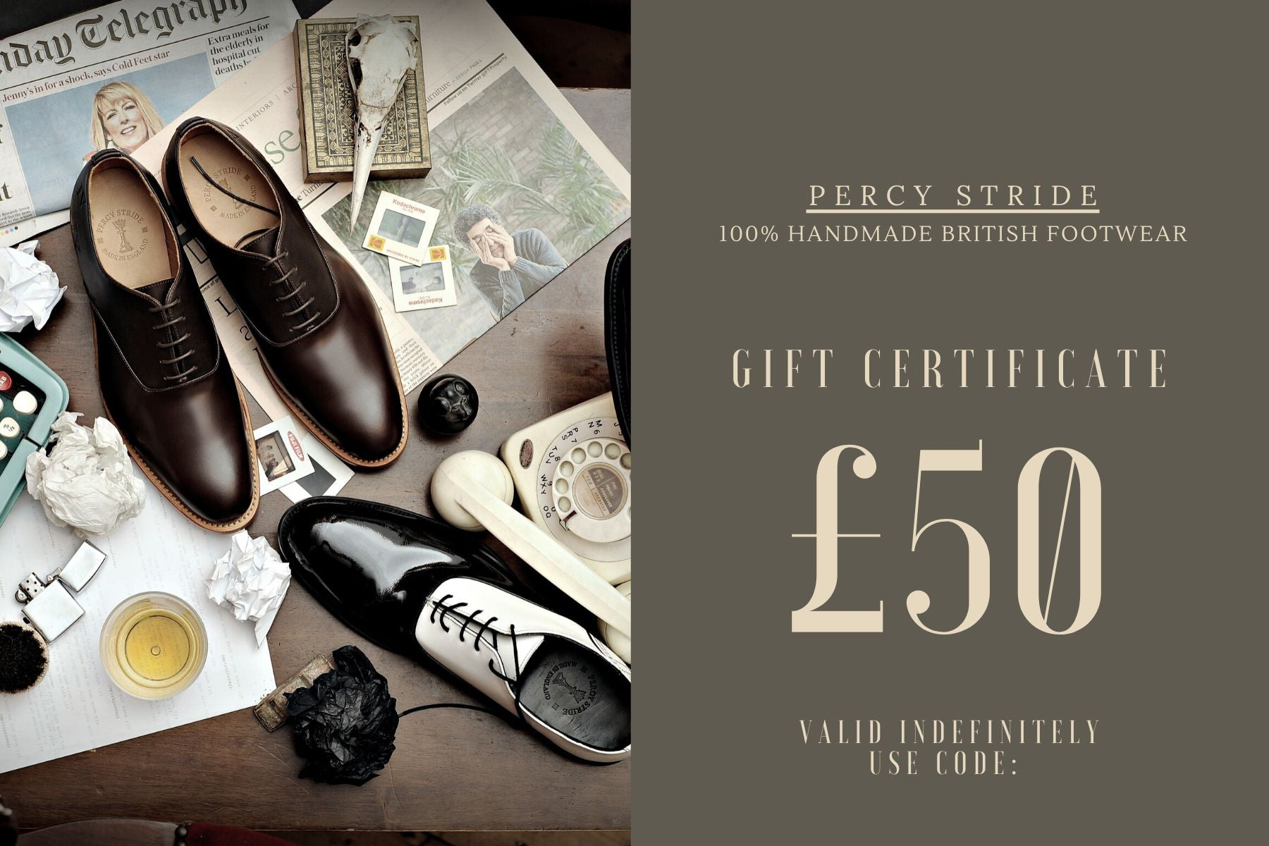 Percy Stride Gift Card