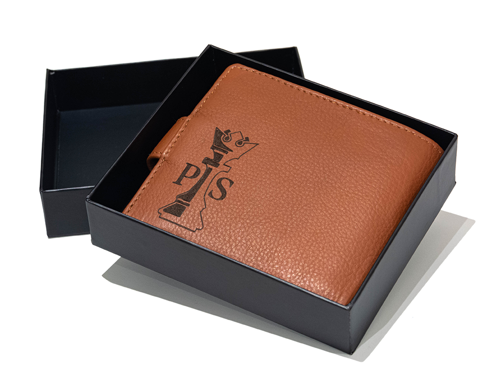 Percy Stride Leather Wallet