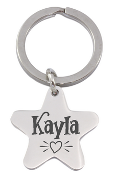 Engraved Keyrings
