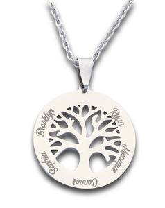Engraved Jewellery - Pendants