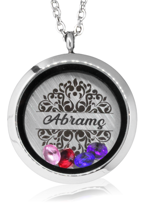 Engraved Locket Jewellery