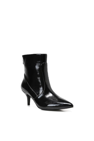 MACKIN J 224C-7 Women's Kitten Heel Ankle Boots Pointed Toe Zipper Boots