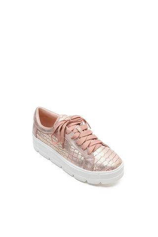 MACKIN J 334-2 Women's Platform Fashion Sneakers Lace Up Lightweight Casual Low Top Shoes