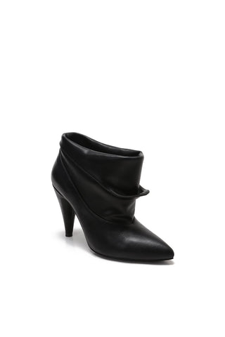 Peep Toe Slip On Booties - mackinj2
