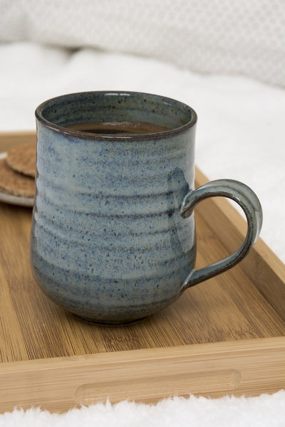 Blue Pottery Mug, 10 fl oz - Mad About Pottery - Mugs and Cups