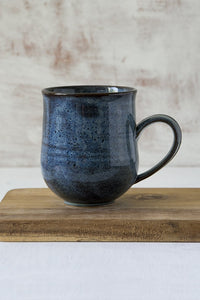 Blue Pottery Mug, 14 fl oz - Mad About Pottery - Mug