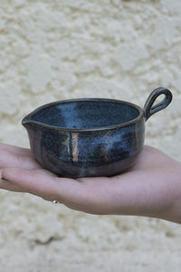 Blue Pottery Tea Bag Dish - Mad About Pottery - Bowl
