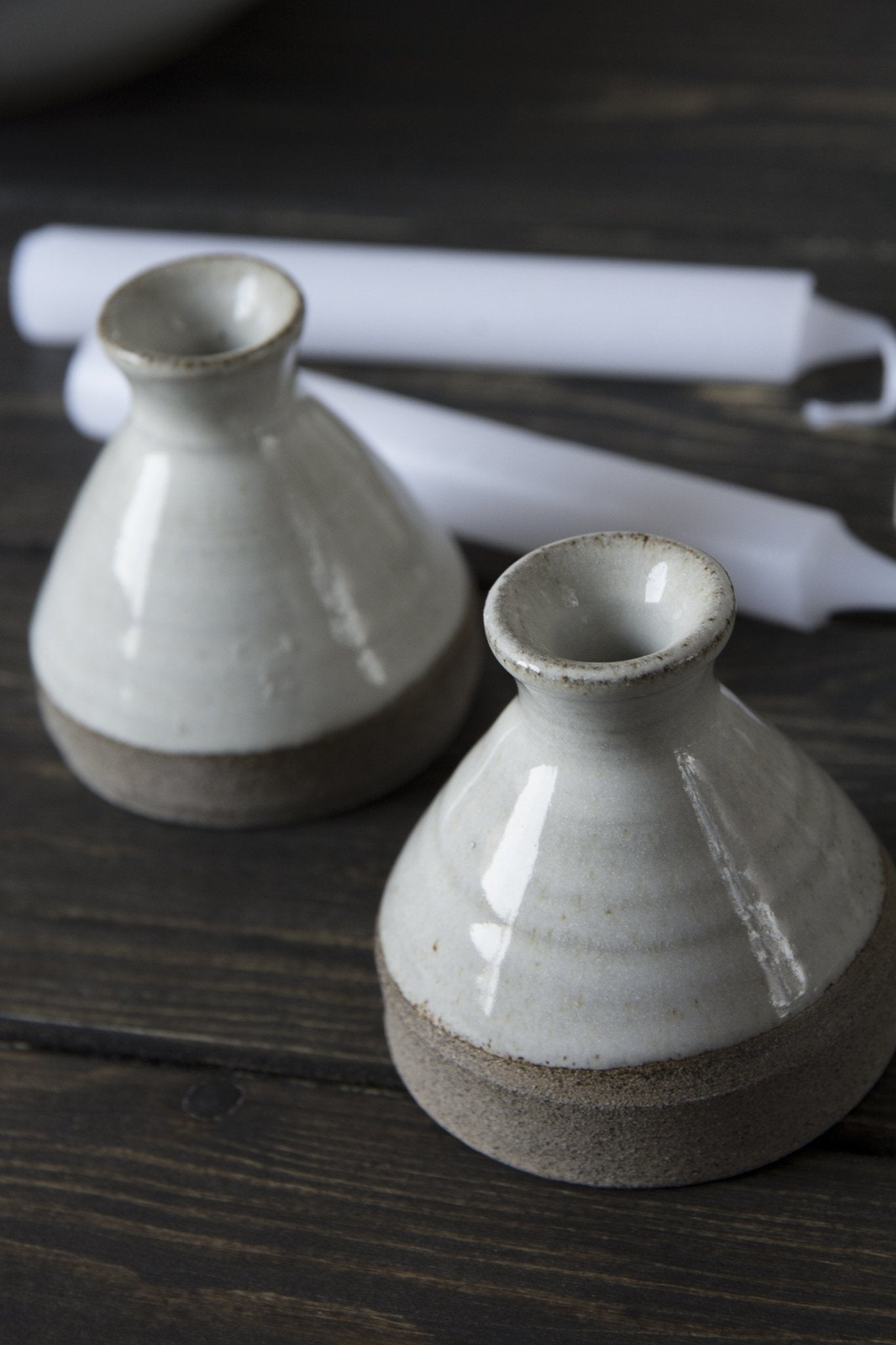 Candle Holders - Mad About Pottery-