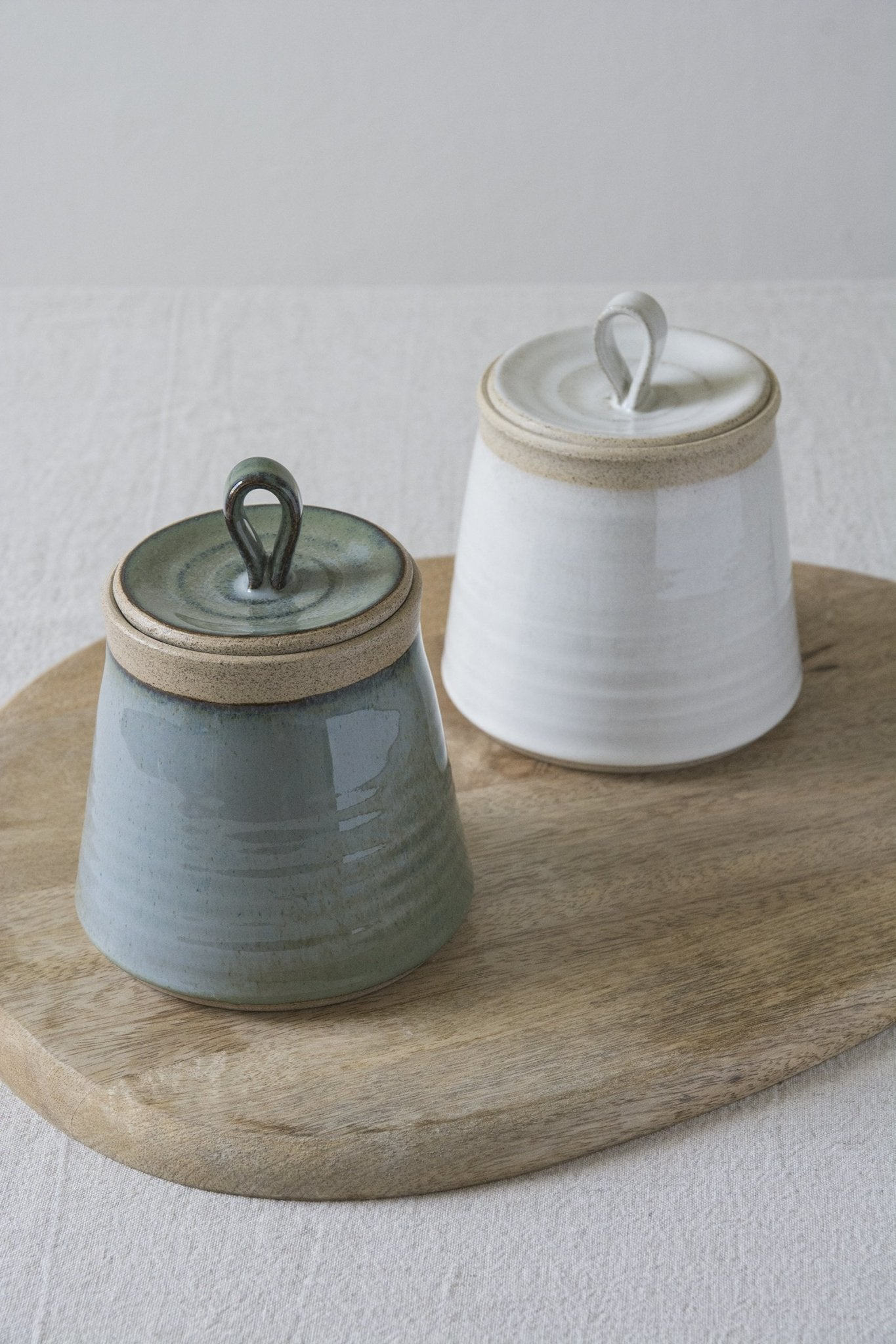 Handmade Ceramic Kitchen Canister - Mad About Pottery - canister