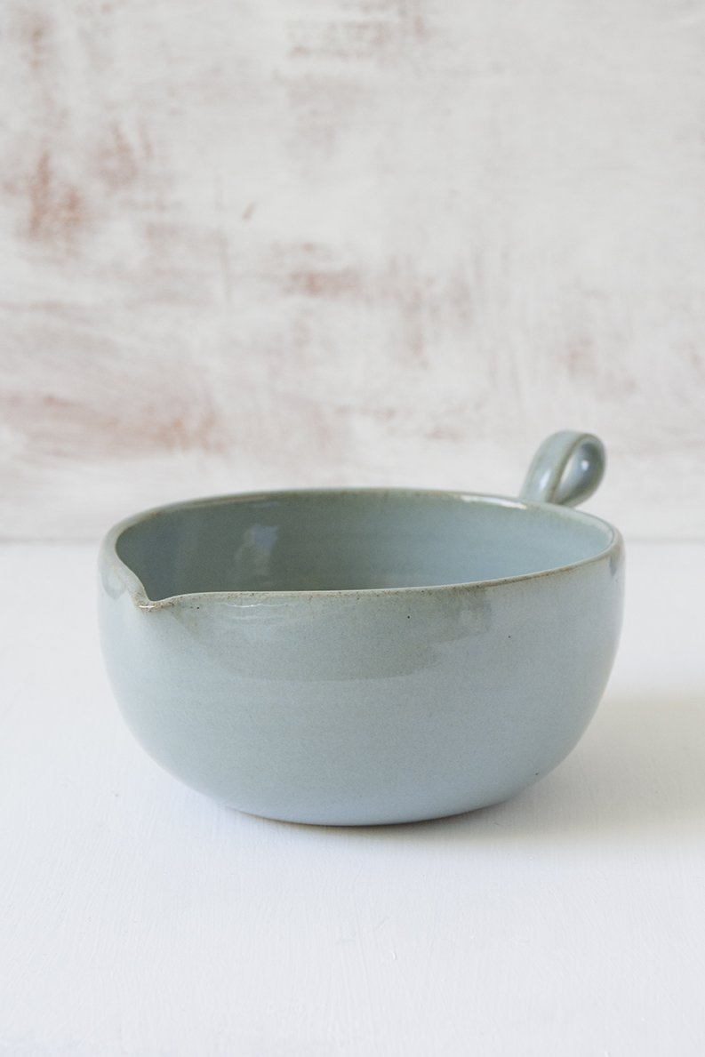 Light Blue Ceramic Batter Bowl - Mad About Pottery - Bowl