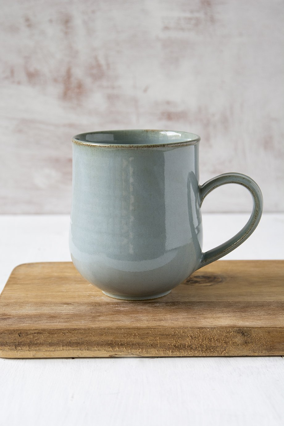 Light Blue Pottery Mug, 14 fl oz - Mad About Pottery - Mug