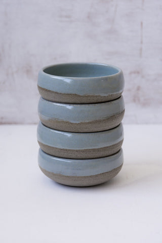 Light Blue Small Pottery Bowls - Mad About Pottery- Bowl