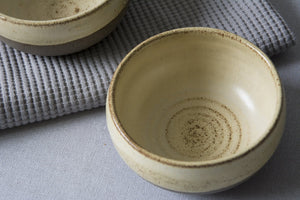 Mini Yellow Pottery Serving Bowls - Mad About Pottery - Bowl
