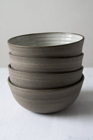 Pottery Ramen Bowl with Chopsticks Rest - Mad About Pottery - Bowl