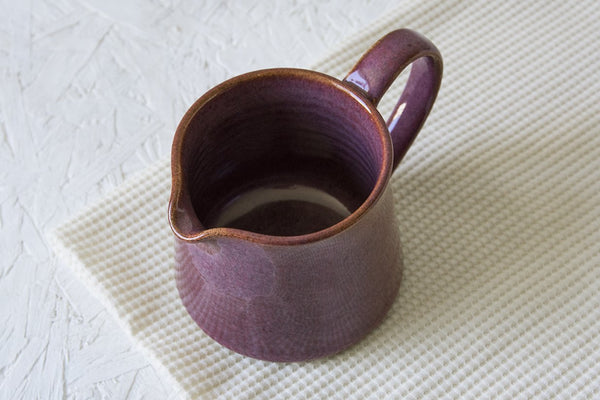 Purple Ceramic Sugar bowl and Creamer - Mad About Pottery - Sugar Bowl set