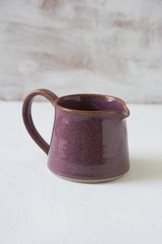 Purple Pottery Pitcher - Mad About Pottery - creamer