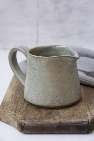 Small Green Sage Creamer - Mad About Pottery - creamer