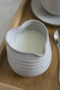 Small Heart Shaped Creamer - Mad About Pottery - Vase