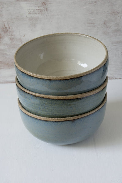 Stoneware Noodle Bowl - Mad About Pottery - Bowl