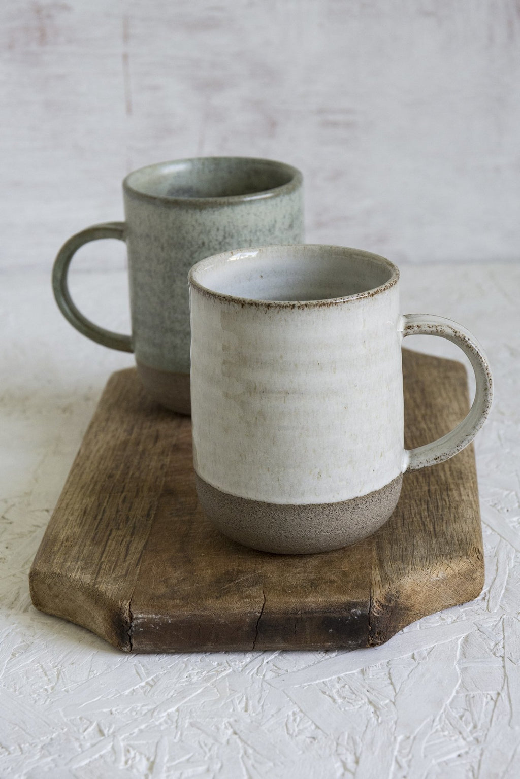 Tall Narrow Pottery Mug, 10 fl oz - Mad About Pottery - Mugs and Cups