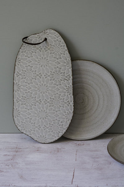 Wabi-Sabi Ceramic Serving Platter - Mad About Pottery - Serving Platter